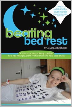 Beating Bed Rest: Book Review - A humorous look at what being confined to a bed is really like from women who have been there. #pregnancy #bedrest #bookreview