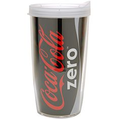 Tervis Coke Zero Can Tumbler 16oz                 , Satisfy big thirsts in style with this hefty 24-ounce double-wall Coke Zero Can tumbler.