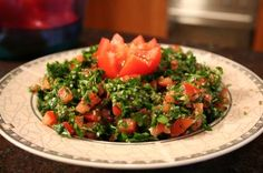 For a crisp, light, and exotic salad, try some tabouli!