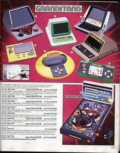 Retro Finds - The best of the 70s and 80s 70's and 80's: RETRO ARGOS CATALOGUE - 1984 - Toys and Handheld Games