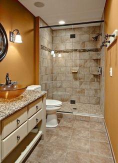 bathroom decorating ideas neutral colors Bathroom Design Small, Modern Bathroom, Bathroom Designs, White Bathroom, Bathroom Interior, Restroom Remodel, Remodel Bathroom, Bathroom Remodeling, Remodeling Ideas