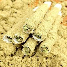 Dipped in oil, rolled in kief.... damn thats the way to do it!