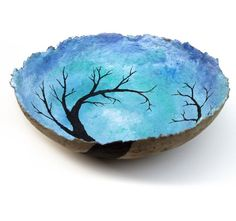 I love anything natural, recycled, or nature inspired..... this ticks all three.