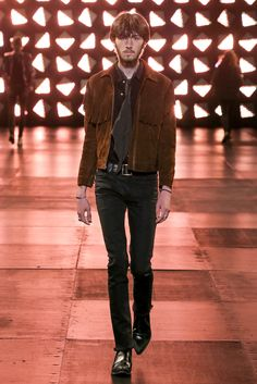 Saint Laurent Spring 2015 Menswear - Collection - Gallery - Style.com