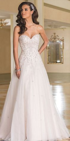 Wedding dress idea; Featured: Justin Alexander