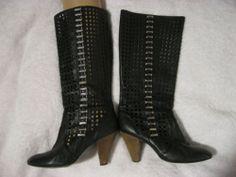 Miss Sixty Cut-out boots Summer Boots, Miss Sixty, Heeled Boots, Heels, Fashion, High Heel Boots, Heel, Moda, Heel Boots