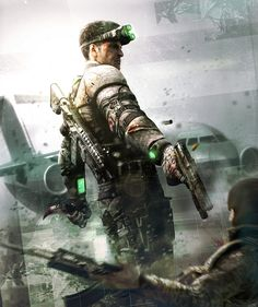 Splinter Cell Blacklist by Two Dots, via Behance Splinter Cell Blacklist, Tom Clancy's Splinter Cell, Video Game Art, Video Games, Pc Games, Future Soldier, Tattoo Motive, Fanart, Cartoon Games
