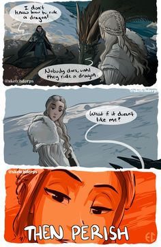 Game of Thrones - Daenerys Targaryen by Emily Claus Game Of Thrones Books, Game Of Thrones Dragons, Got Game Of Thrones, Game Of Thrones Funny, Game Of Trones, Daenerys Targaryen, Khaleesi, Got Memes, Love Games