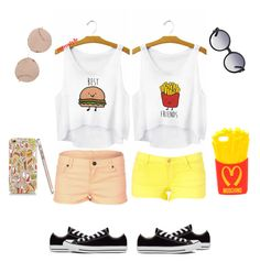 """BFF OUTFIT! "" by sierra-meadows on Polyvore"