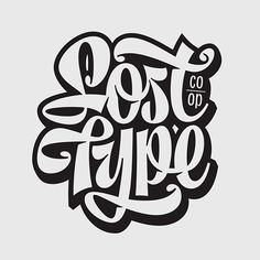 Lost Type Co-op lettering. Here is the finished lettering piece I made for @losttypecoop This will be printed on t-shirts soon!