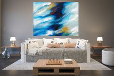 Items similar to Large Modern Wall Art Painting,Large Abstract wall art,texture art painting,colorful abstract,office wall art on Etsy Modern Oil Painting, Large Painting, Painting Art, Textured Painting, Oversized Canvas Art, Bright Paintings, Abstract Paintings, Bedroom Paintings, Canvas Paintings