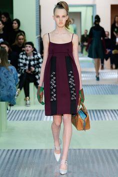 2015秋冬時裝週-Prada的復古少女心