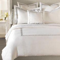 *Free Shipping* NWT Matouk Luca Birch 500TC Euro Pillow Sham GORGEOUS