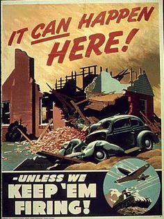 World War II Poster (Britain)
