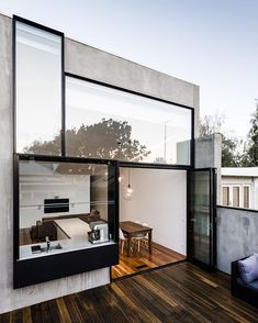 Turner House Designed by Freadman White Architect's, In Melbourne, #australia  @dopedecors