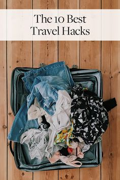 The 10 Best Travel Hacks We Know via @PureWow via @PureWow