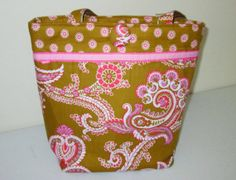 Jacqueline  medium tote by kaydeesbagboutique on Etsy, $53.00
