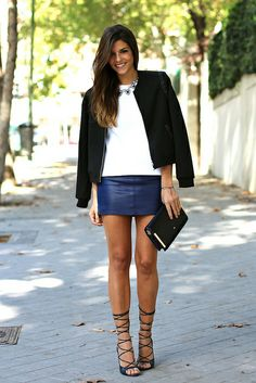 Leather skirts, Skirts and Shorts on Pinterest