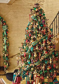 beautiful christmas trees christmas tree themes