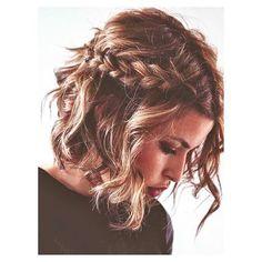 Trança e bob hair: amamos a ideia!  ( Pinterest)  #nabahia #salãonabahia #inspiracao #trança #bobhair #cabelos #beleza #beautytips #haircut