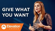 Give What You Want | Holly Furtick