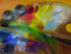 """Una pintura al día: """"Paleta"""""""