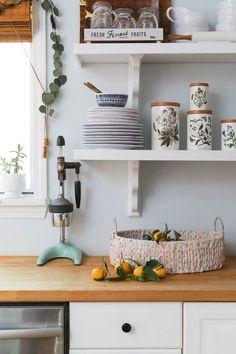 kitchen shelving decor ideas