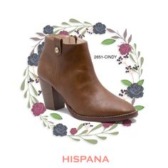 #CalzadoHispana #ModaMexicana #Estilo #ZapatosMexicanos #Booties #OtoñoInvierno