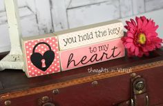 LOOVE. GroopDealz | Key to My Heart Craft kit, only $5.59!!! Wow.