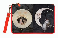LOVERS MOON Clutches, Music Instruments, Lovers, Moon, Canvas, Prints, Bags, Beast, The Moon