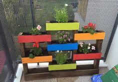Pallet Planter Idea