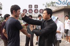 Donnie Yen, and Huang Xiaoming - Ip Man 2