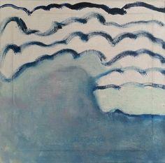 Salt Winds Oil on Linen Lauren Garvey
