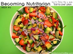 """How to do Dr. Fuhrman's 6 Week """"Eat to Live"""" plan -- I Lost 21.2 lbs in 6 Weeks and listed everything I ate!"""
