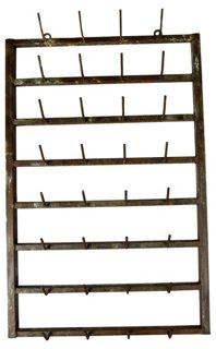 French Wall Vintner's Rack