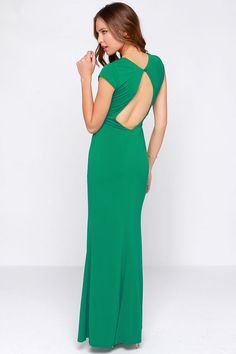 Rubber Ducky Hold You Close Green Maxi Dress at Lulus.com!