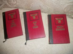 Christian Befnadac Nazi WWII military book set by FabulousFinds1, $29.50