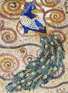 Mosaic Art - Artistic Peacock