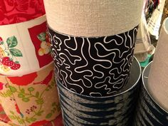 """""""Lampshades as a design element; Lakes Lampshade's Lampshade Lady takes lampshade making to an art. Make A Lampshade, Lampshades, Diy Furniture Projects, Fun Projects, Vintage Lamps, Drum Shade, Design Elements, Lights, Glow"""