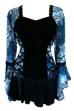 Awesome Dare To Wear Victorian Gothic Womens Plus Size Bolero Corset Top Steampunk Fashion, Gothic Fashion, Steampunk Clothing, Gothic Clothing, Women's Clothing, Fashion Mode, Womens Fashion, Emo Fashion, Fashion Bags