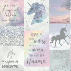 This stunning Believe In Unicorns Glitter Wallpaper by Arthouse is ideal for all unicorn fans, with a collage design, pastel colours and glitter highlights 3d Brick Effect Wallpaper, Metallic Wallpaper, Paper Wallpaper, Kids Wallpaper, Trendy Wallpaper, Colorful Wallpaper, Unicorns Wallpaper, Hallway Wallpaper, Nursery Wallpaper