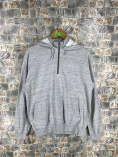 1963b12d8fe4 CHAMPION Gray Sweater Hoodie Medium Vintage 90s Champion Usa Sportswear Champion  Grey Sweatshirts Pullover Size M