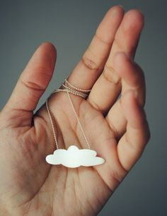 La Nube Necklace Sterling Silver