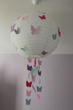 DIY boule japonaise papillons light and butterfly