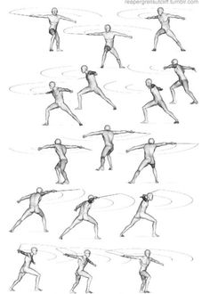 Anatomy Reference, Drawing Reference, Sword Poses, Sketch Poses, Anatomy Poses, Figure Reference, Drawing Tips, Drawing Stuff, Male Poses