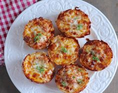 Muffin Tin Spaghetti Pies Quick Video
