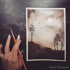Illusion Art, Watercolor Techniques, Art Crafts, Watercolor Art, Illusions, Promotion, Doodles, My Arts, Colour