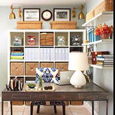 Ikea office idea