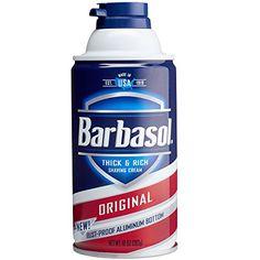 Barbasol Original Thick and Rich Cream Men Shaving Cream,...