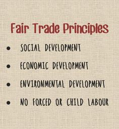 Fair Trade Principles- More companies living by these rules. Sustainable Clothing, Sustainable Fashion, Sustainable Style, Sustainable Tourism, Sustainable Living, Slow Fashion, Ethical Fashion, Ethical Clothing, Vegan Fashion